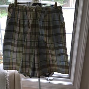 RTW Shorts - Pretty plaid 100% cotton  light weight and cool.